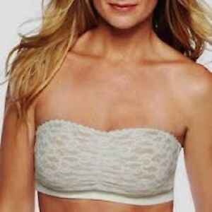 fb7a4c1abc079 Image is loading Maidenform-bra-40902-SELF-EXPRESSIONS-LACE-BANDEAU-36-