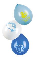 Baby Boy Party Ballons 6 St. NEU - Partyartikel Dekoration Karneval Fasching