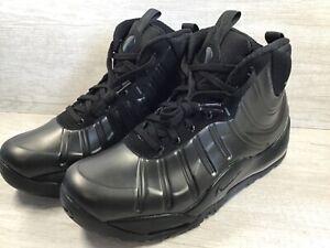Nike-Air-Bakin-Posite-Boot-Black-Anthracite-Black-Black-618056-001-Size-8