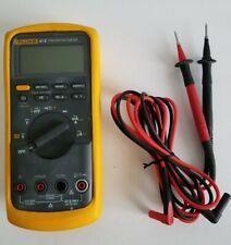 Fluke 87 V True Rms Multimeter Excellent With Leads