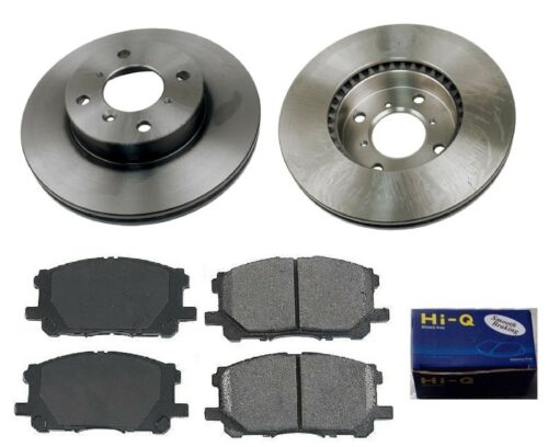 Front Ceramic Brake Pad Set /& Rotor Kit for 2006-2007 Suzuki Aerio
