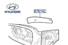 Genuine Hyundai i30 Wing Mirror Indicator Side Repeater RH Driver - 876243X000