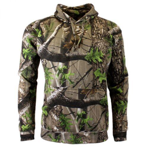 Game Trek Camo Realtree Kapuzen Hoodie M-XXXL Camouflage Tarn Pullover Pullover & Sweaters Angelsport
