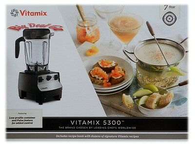 Vitamix 5200S/ 5300 64oz Food Juicer Blender With Get Started Cookbook NEW