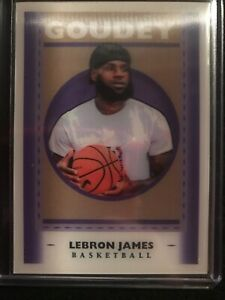 2019 Goodwin Champions Lebron James GL1 Lenticular 3-D Goudey