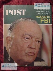 Saturday Evening POST September 25 1965 BILL COSBY J EDGAR HOOVER