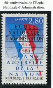 TIMBRE-FRANCE-OBLITERE-N-2971-ECOLE-ADMINISTRATION