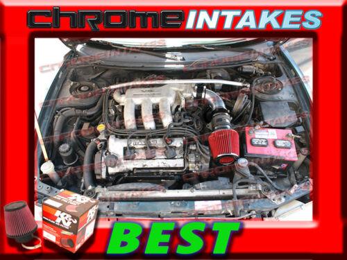 K/&N+BLACK RED 93 94-97 FORD PROBE GT//MAZDA MX6//626 2.5 2.5L V6 AIR INTAKE KIT TB