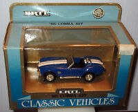 ERTL 1965 Blue White Cobra 427 - Classic Vehicles 1 43 Original Box #2851