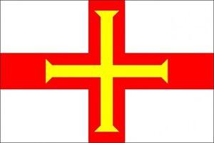 GUERNSEY-3-X-2-FEET-FLAG-Channel-islands-Saint-Peter-Port-UK