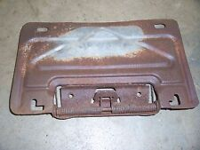 1969 1970 Buick Lesabre exterior rear gas tank filler license plate flipper