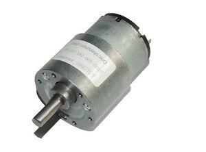 Details about DC6V 12V 24V JGB-520 Full Metal Turbo Worm Gearbox Reduction  Gear DC Motor