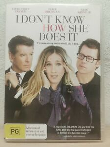 I-Don-039-t-Know-How-She-Does-It-DVD-Pierce-Brosnan-COMEDY
