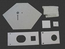Waste Oil Heater Parts Lanair MX 150/200 combustion chamber refractory brick kit