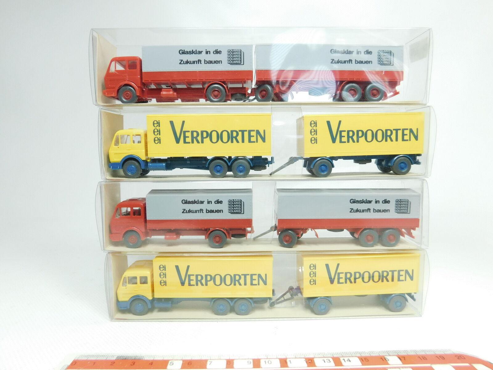 BJ480-0,5x Wiking H0 1 87 LKW Mercedes-Benz MB  455 Solaris + 457, NEUW+OVP