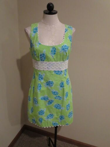 Dress Lilly Stampa Pizzo Turtle Pulitzer Occhiello Illumination Shift Sea ISSC1xqwY