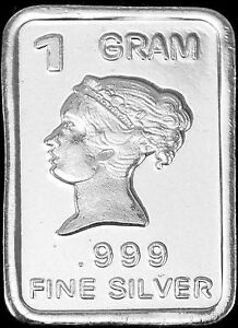 USA-1gr-999-Fine-Silver-Art-Bar-Classic-image-039-Queen-039-UNCIRCULATED