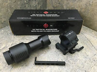 Sightmark 3x Tactical Magnifier Sm19037 Compatible With Other Sights