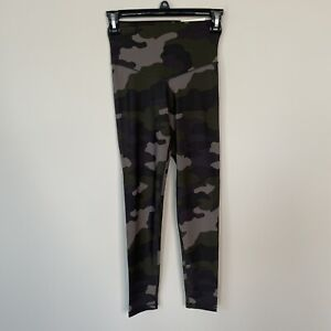 Aerie Offline Leggings Women's Size Small High Rise Camo Stretch Ankle Length