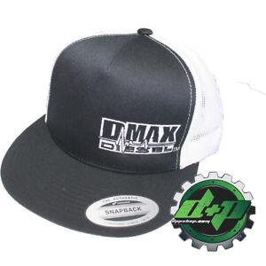 389919f9ec860 DMAX Diesel flat bill snap back trucker cap truck hat ball Chevy GM ...