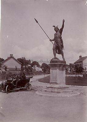 Sammeln & Seltenes Liefern Statue Von Vercingetorix Bis Gien Frankreich Vintage Citrat Richtung 1910 Transport