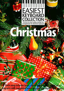 CHRISTMAS-SONGS-amp-CAROLS-For-Easy-Keyboard-Play-Sheet-Music-Book-Songbook-Tunes