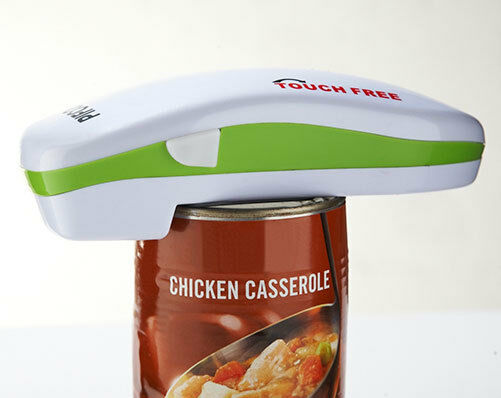 Battery Operated Can Tin Opener Tool Automatic Electric Jar Bottle Mobility ee1