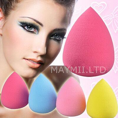 Pro Beauty Makeup Sponge Blender Flawless Smooth Shaped WaterDrop Puff J