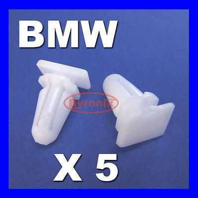 10x BMW SILL KICK PLATE TRIM CLIPS 3 5 7 SERIES E30 E32 E34 E36 E38 E39 E46 M3