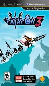 Patapon-3-Physical-Disc-Version-PlayStation-Portable-PSP-BRAND-NEW
