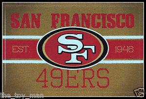 SAN-FRANCISCO-49ERS-VINTAGE-TEAM-LOGO-FOOTBALL-NFL-DECAL-STICKER-BOGO-25-OFF