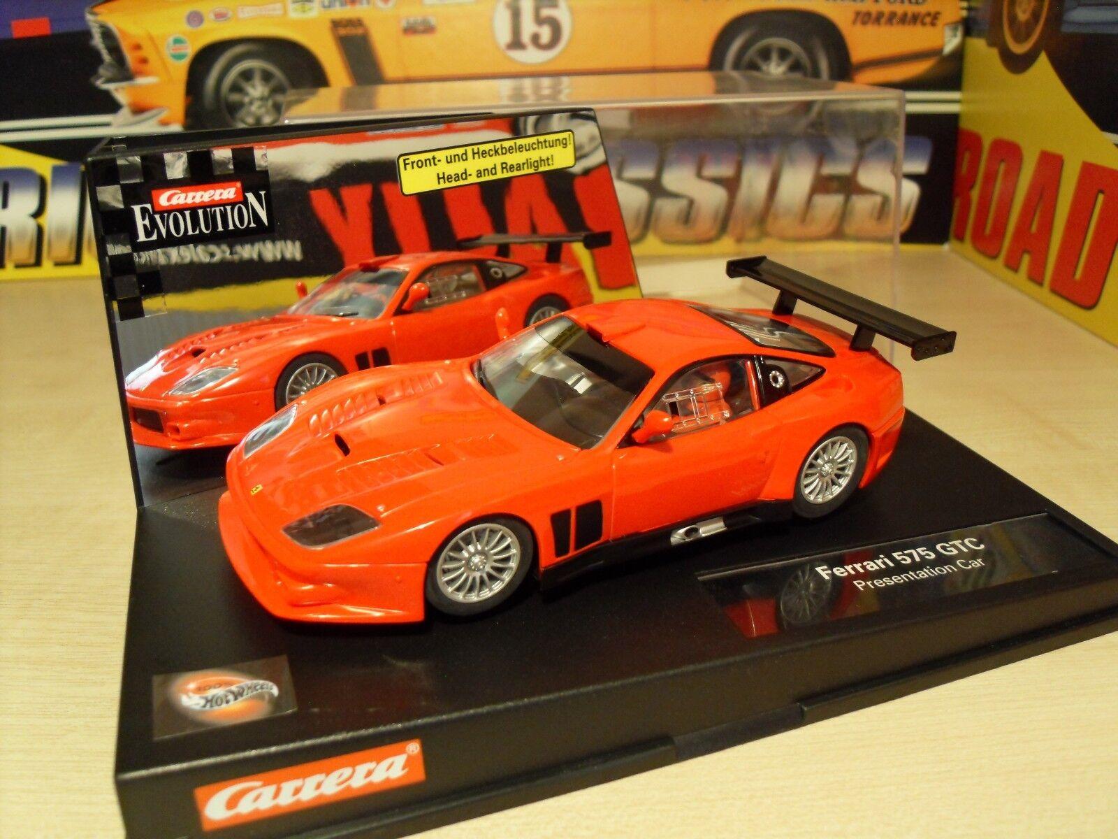 Carrera 25725 Ferrari 575 GTC - Brand New in Box.