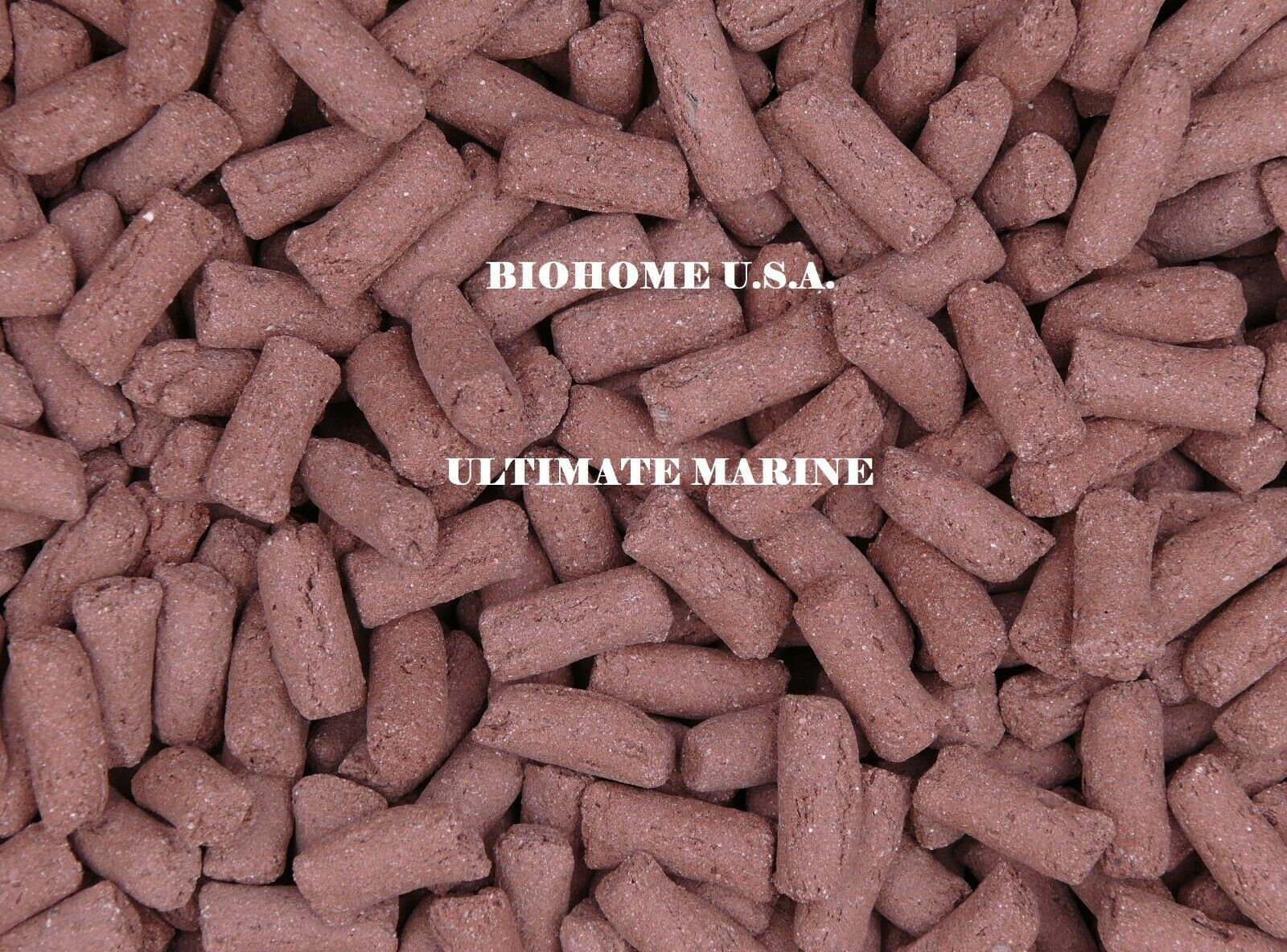10 LBS BIOHOME ULTIMATE MARINE FILTER MEDIA MEDIUM RED  POUND US SELLER