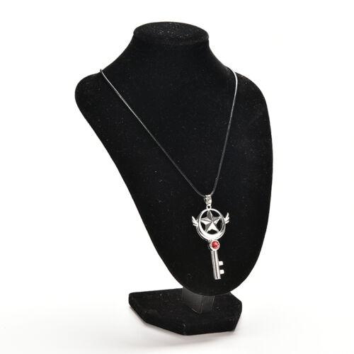 Magic Wand Necklace Cardcaptor Star Pendant Anime for Cardcaptor Sakura SP