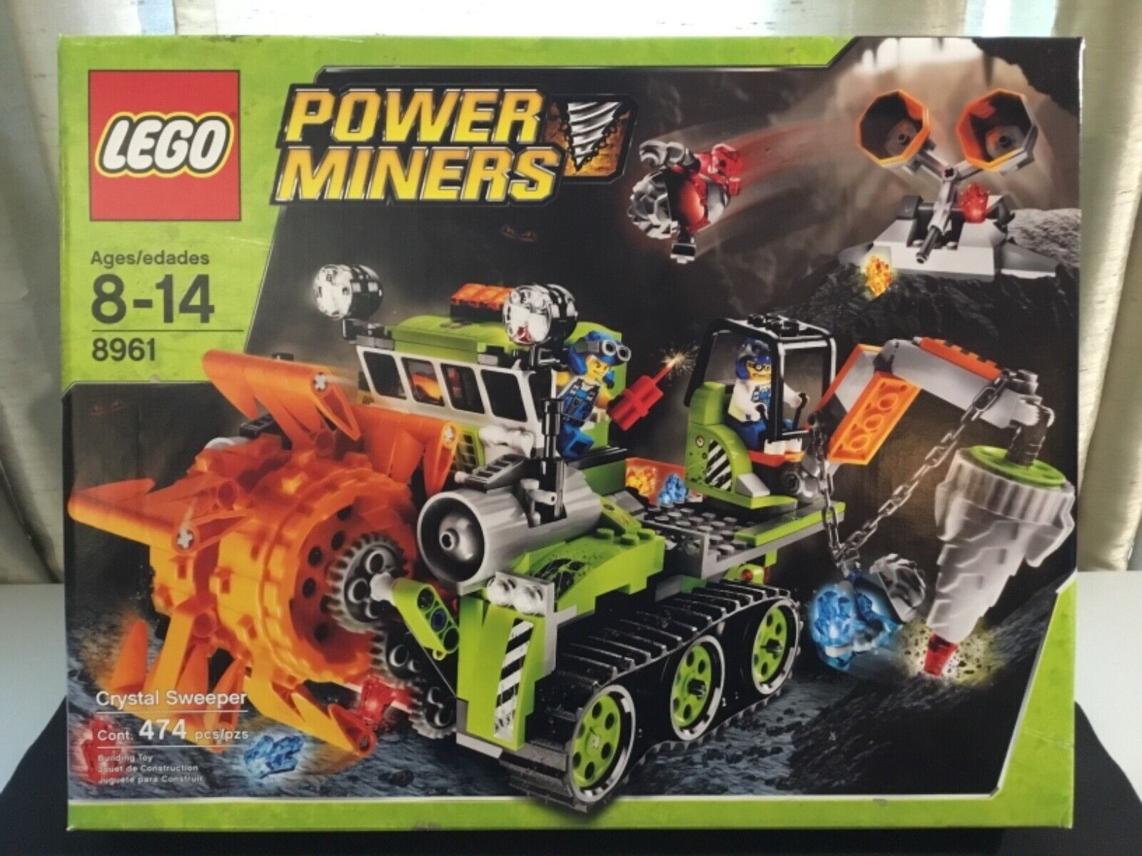 Lego Power Miners Crystal Sweeper 8961 Meltrox Glaciator