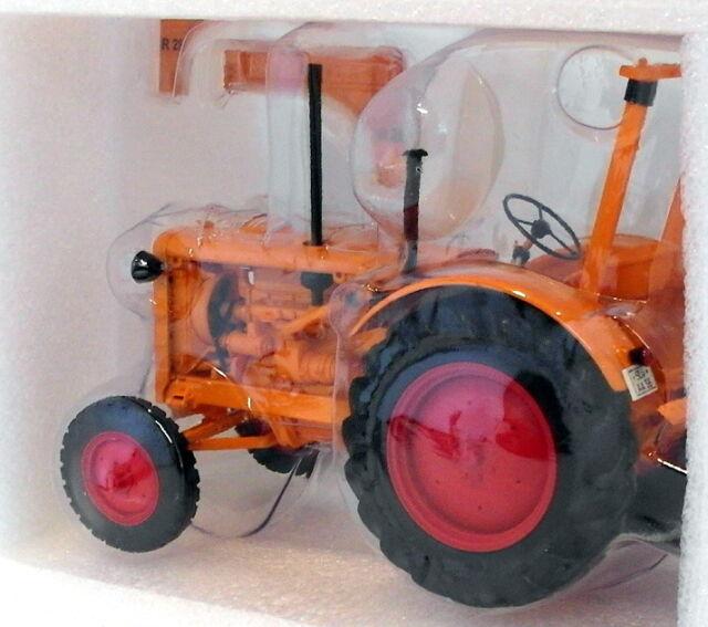 1953 en Orange Minichamps escala 1:18 OVP nuevo Hanomag r28 tractor