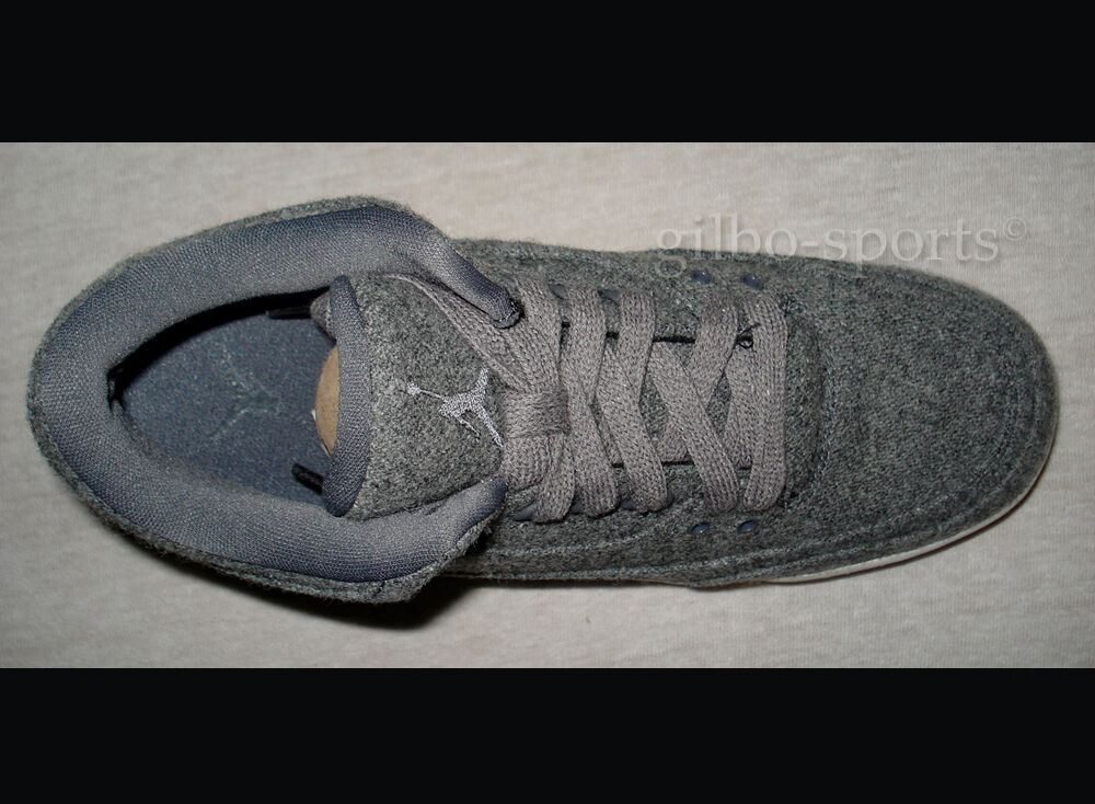 Nike Air Jordan Jordan Jordan 3 Retro Wool BG Dark Grey Gr. 36 37 38 40 Neu 861427 004 selten 5d5156