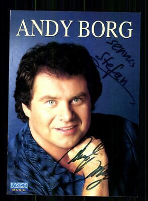 GüNstiger Verkauf Andy Borg Autogrammkarte Original Signiert ## Bc 141684 National Musik