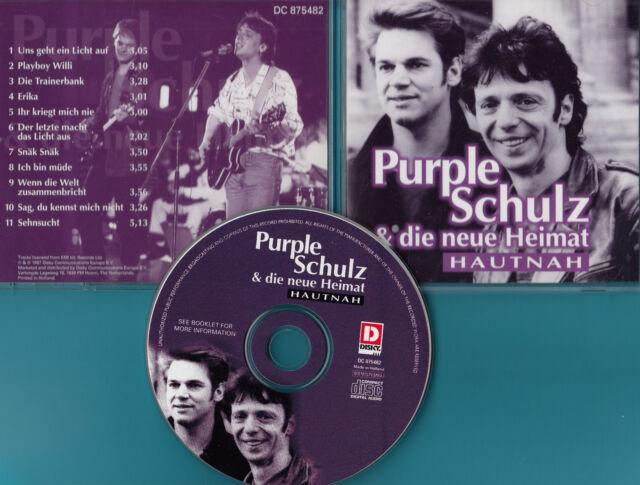 Purple Schulz & die neue Heimat - CD - Hautnah - CD von 1997 - Neuwertig !