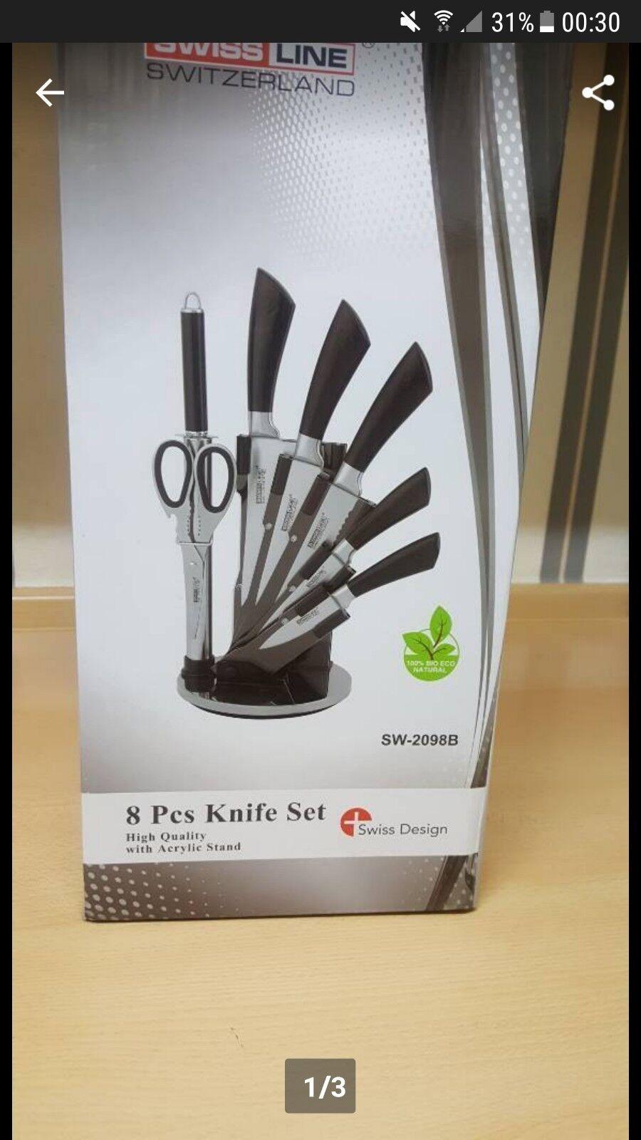 Messerset Messer hochwertig hochwertig hochwertig  NEU 100%BioEcoNatural e42260