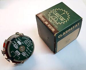 50K-ohm-CLAROSTAT-42JA-WireWound-Potentiometer-3-watt-CONTINUOUS-turn-Linear-NIB
