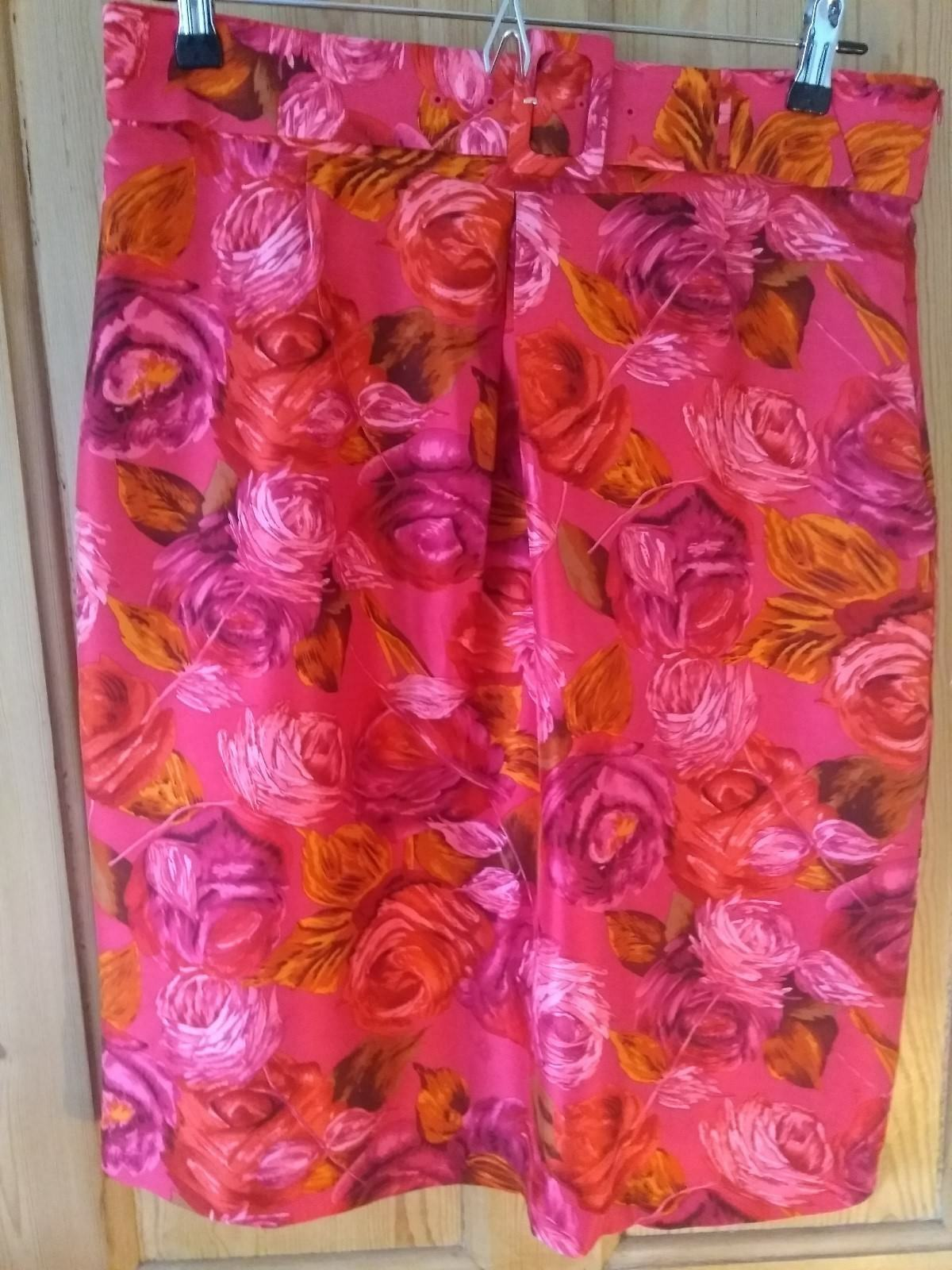 Brand new with tags silk colourful skirt by LK Bennett, size 16