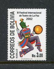 Bolivia 1174, MNH.2002, Theatre festival 1v. x27691