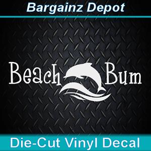 car window Dolphin Vinyl Die Cut Decal laptop,ocean,boat truck