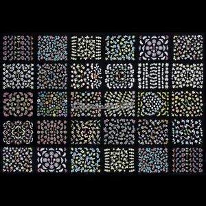 50-SHEETS-3D-Nail-Art-Transfer-Stickers-Design-Manicure-Tips-Decal-Decorations