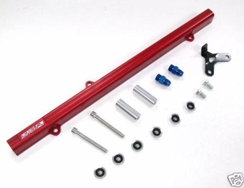 OBX Red Fuel Rail 1100cc FITS 1993 94 95 96 1997 Supra Turbo 2JZ-GTE JZA80