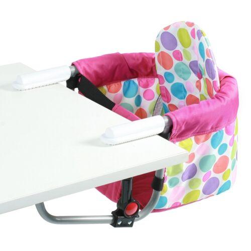 Chic 4 Baby Tischsitz Relax Hochstuhl Tisch-Sitz Pinky Bubbles