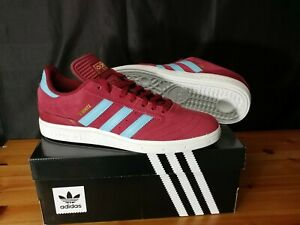 Adidas-Busenitz-Pro-Skateboarding-Shoes-US-Mens-Size-9-Maroon-Suede-Exclusive