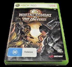 Mortal Kombat vs DC UNIVERSE XBOX 360 PAL XBOX360