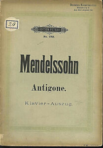 Mendelssohn-Antigone-Klavier-Auszug-mit-Text